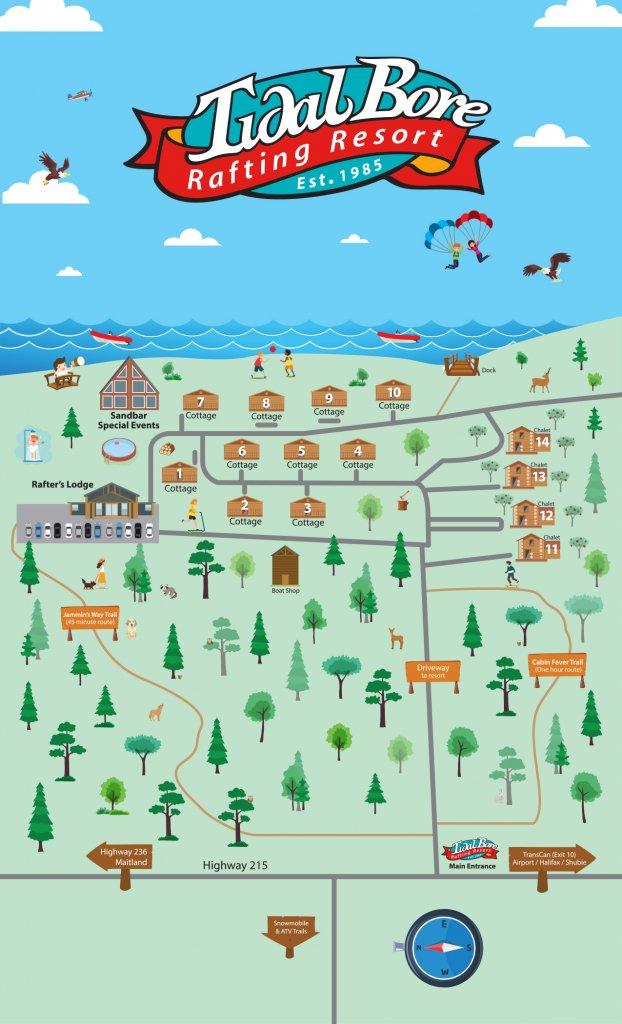 Map Locator - Tidal Bore Rafting Resort