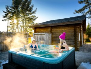 Hot Tub Chalet #14